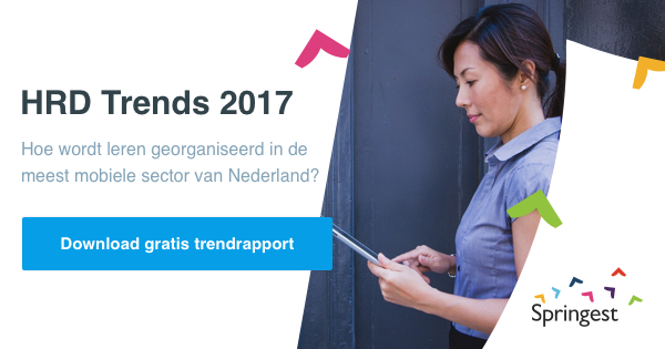 HRD Trends 2017 financiele dienstverlening mobiliteit sector banner