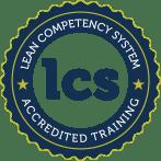 Logo van Lean Competence System voor lean six sigma certificeringen en examens